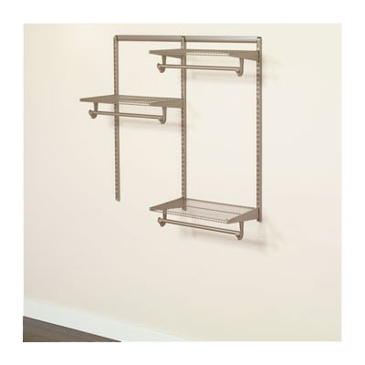 Closet Culture Modular Closet System Is Sold As Individual Components And  In 4 Ft., 6 Ft. And 8 Ft. Kits At Major Home Stores Across The U.S. The  Kits ...