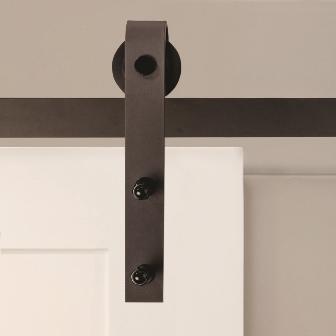 New Steel Flat Rail Barn Door Hardware KV Knape Vogt