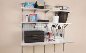wall systems - Garage Organization