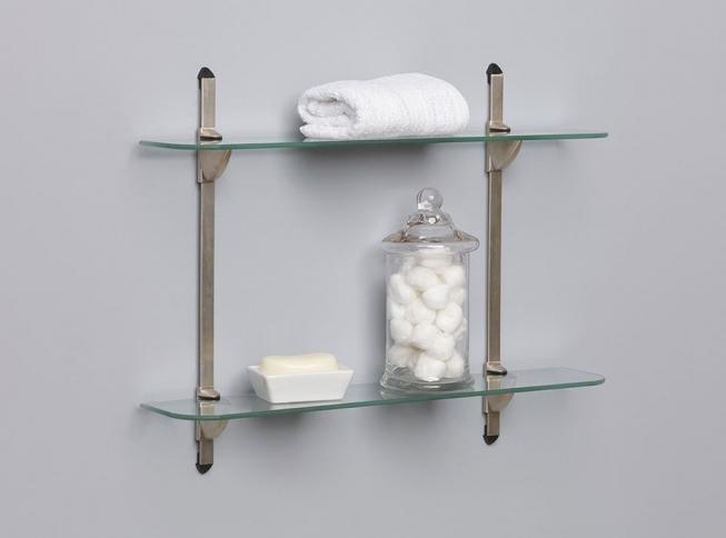 adjustable glass shelf kit kv knape vogt rh knapeandvogt com adjustable glass shelves bracket tracks adjustable glass shelving brackets