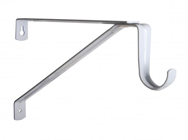 Charmant KV 1194 Series Commercial Adjustable Heavy Duty Closet Rod U0026 Shelf Bracket