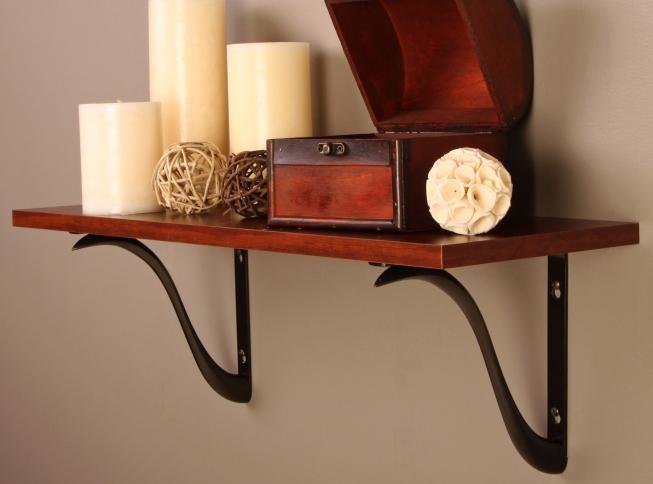 200chab charleston decorative shelf bracket antique bronze finish