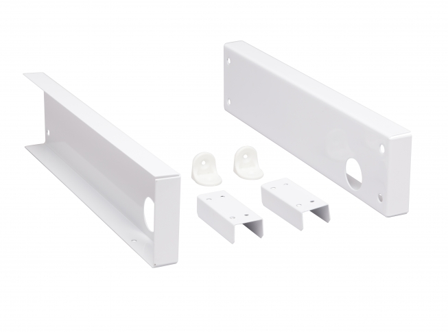Closet Pro 0016 Shelf And Pole Mounting Kit, White