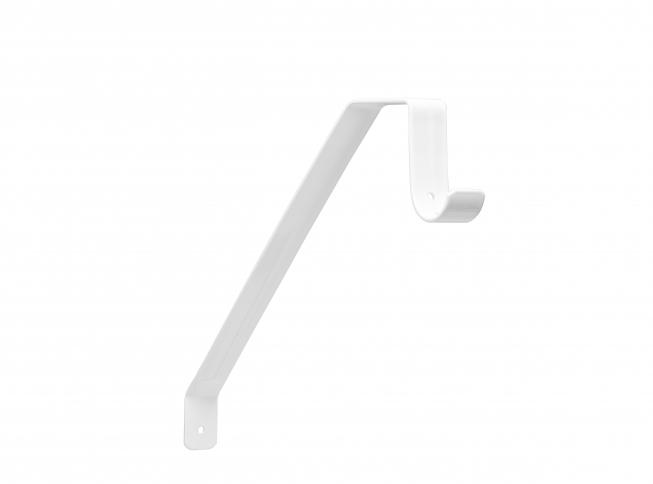 Closet Pro 0041 B Adjustable Shelf U0026 Rod Bracket, White