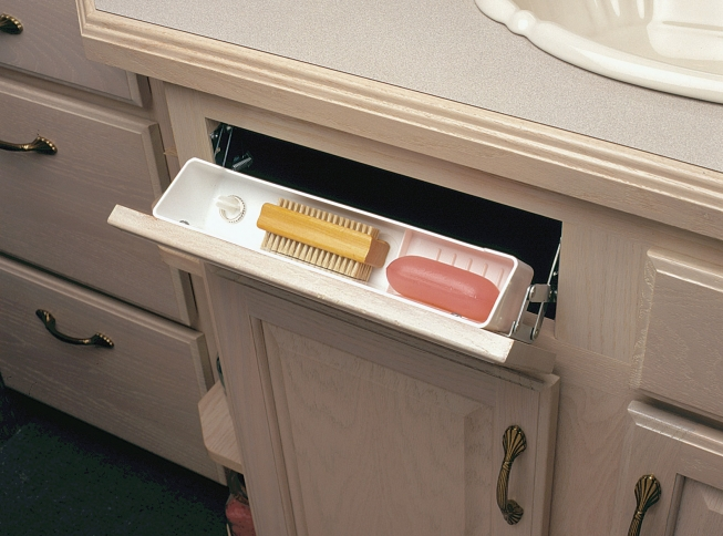 Polymer Sink Front Trays. Magnigy