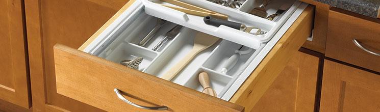 Drawer Inserts Sink Front Trays Kv Knape Vogt