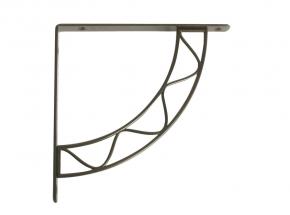 200S-AB Stockton Decorative Shelf Bracket, Antique Bronze Finish