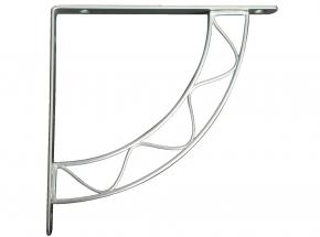 200S-SN Stockton Decorative Shelf Bracket, Satin Nickel Finish