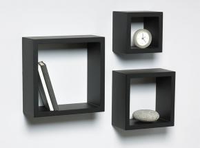 240-BK 3-Piece Shadow Box Kit, Black Finish