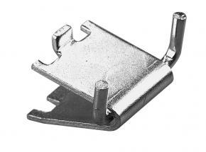 242 Series Wire Shelf Support Clip, Anochrome Finish