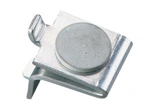 256R Series Steel Shelf Support Clip with Rubber Cushion