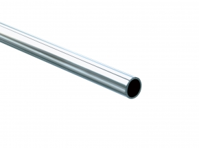 KV 660 Series Commercial Heavy Duty Round Closet Rod, Stainless Steel