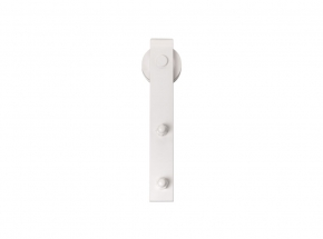 FR-WTHK Steel Flat Rail Face Mount Kit, White Finish