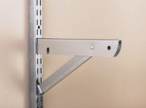 """BK-0103-11 FAST-MOUNT 10"""" Double Bracket With Support"""