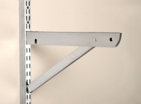 """BK-0103-14 FAST-MOUNT 13"""" Double Bracket With Support"""