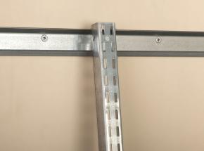 BK-0100 FAST-MOUNT Wall Standard Installs Easily On 0111 Hang-Trak Hang Rail