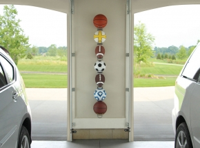 0027 John Sterling Ball Rack (Sports Balls Not Included)