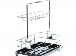 Roll Out Removable Cleaning Basket